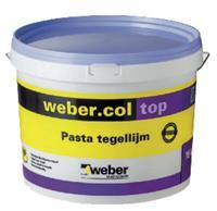 Weber pasta tegellijm 16kg