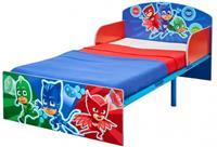 Disney Bed PJ Masks - blauw/rood - 143x77x59 cm