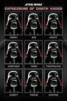 Star Wars Expressions of Darth Vader