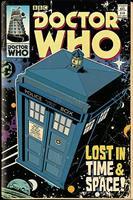 Doctor Who Tardis Comic Poster 61x91,5cm