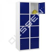 Metalen Locker met 8 vakken - breed model (Capsa)