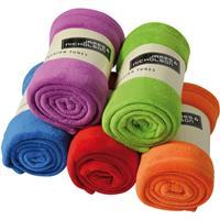 James & Nicholson Microvezel fleece deken lime