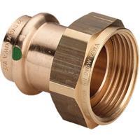 "Viega Sanpress koppeling persxbi. 35x1 1/2"", brons"