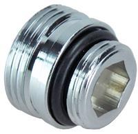 sanifun adaptor 3/4 x1/2 midden-onder aansl.