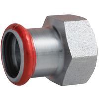 "Bonfix Press schroefbus 1/2""x15 mm, bi.xpers, staalverzinkt"