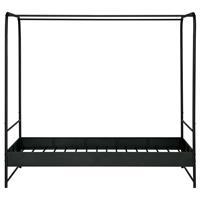 VTWonen Hemelbed Bunk metaal zwart 90x200cm