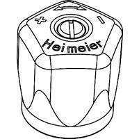 """Heimeier handknop voor radiatorafsluiter 3/8"""" - 3/4"""", wit"""