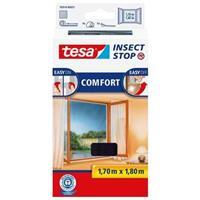 Tesa Insectenhor  55388 voor raam 1,3x1,5m zwart