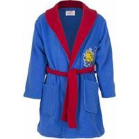 Minions badjas blauw 98