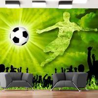 Fotobehang - Goal !!! Victorie