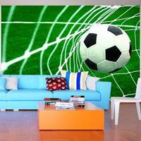 Fotobehang - Doelpunt, voetbal