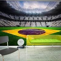 Fotobehang - Braziliaans stadion, voetbal