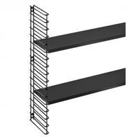 tomado Boekenrekuitbreiding - zwart frame + planken