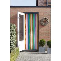 Vliegengordijn/deurgordijn multikleur 90 x 200 cm