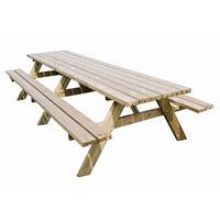 Buitengewoondeboet Picknicktafel Oslo - 300 cm