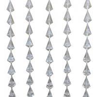 express Vliegengordijn PVC diamant transparant 90x200cm