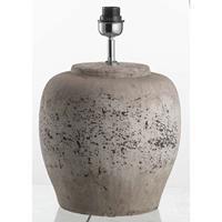 Leen Bakker Voet Tafellamp Sofie - antiek grijs - 40,5xØ30 cm
