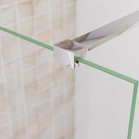 saniclear Redro glas plafond bevestiging chroom