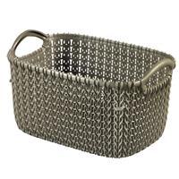 Curver knit mandje XS - 3 liter - harvest brown