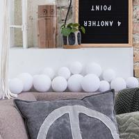 Cotton Ball Lights CBL-premium Pure Whites