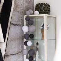 Cotton Ball Lights CBL-premium Strong Greys