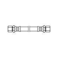 Neoperl Neoflex slang 10 mm, knelx15 mm, knel 35 cm, rvs