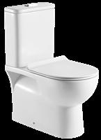 Badstuber Siena duoblok staand toilet met reservoir en zitting