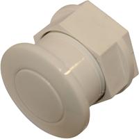 SANIBROYEUR SANICOMPACT® drukknop/pneumatische bediening, wit