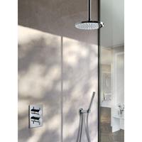 Hotbath IBS 2RA Get Together inbouw doucheset Laddy rond - chroom - met staafhanddouche - 30cm hoofddouche - met plafondbuis 15cm - zonder glijstang