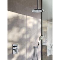 Hotbath IBS 2RA Get Together inbouw doucheset Laddy rond - chroom - met ronde 3 standen handdouche - 30cm hoofddouche - met plafondbuis 15cm - zonder glijstang
