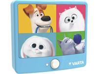 Varta Secret Life of Pets - Sensor 15642 Nachtlamp LED Warm-wit