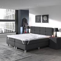 dreamhousebedding 3D AIR Hotel Memory Foam Topper White Wit 140 x 200