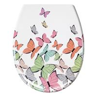 Home24 Wc-bril Butterflies, Kleine Wolke