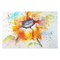 Home24 Afbeelding Painted Sunflower II, Bilderwelten