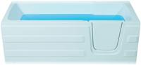 badstuber Paros instap ligbad 170x76cm met deur rechts
