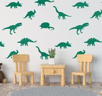 tenstickers Muurstickers kinderkamer Dino's