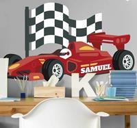 tenstickers Muurstickers kinderkamer 24 uur van de Le Mans