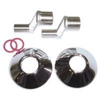 Best Design Paar Staande S-koppeling 3/4 x 3/8 voor 15 > 12