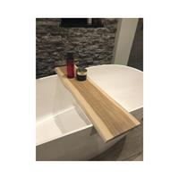Throne Bathrooms Badplank massief eiken boomstam 88x20x2 cm 74711002