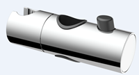 AquaVive schuif voor glijstang 22mm