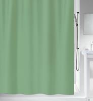 MSV douchegordijn groen 180cm
