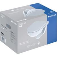 Geberit 280 basic pack wandcloset met closetzitting wit S8P01400000G