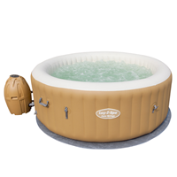 Beliani Lay Z Spa - hottob - whirlpool - massage - 6-persoons - PALM SPRINGS