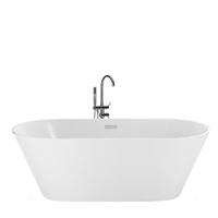 Beliani Badkuip vrijstaand wit 150 cm HAVANA