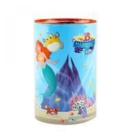 Toi-toys spaarpot zeemeermin blauw 11x6 cm
