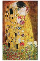 PGM Gustav Klimt - The Kiss Kunstdruk 70.7x117.7cm
