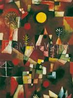 PGM Paul Klee - Der Vollmond Kunstdruk 60x80cm
