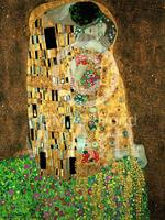 PGM Gustav Klimt - Der Kuss Kunstdruk 60x80cm