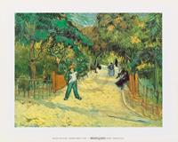 PGM Vincent Van Gogh - Giardini Publici Kunstdruk 30x24cm