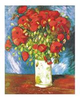 PGM Vincent Van Gogh - Poppies Kunstdruk 40x50cm